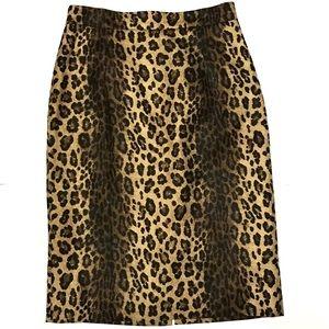 Classiques Entier animal style pencil skirt!